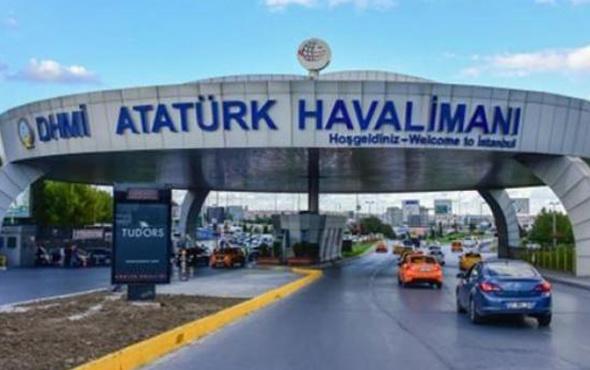 Atatürk Havalimanı'nda trafik yoğunluğu