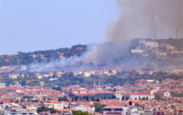 Başbakanın evi yanıyordu!