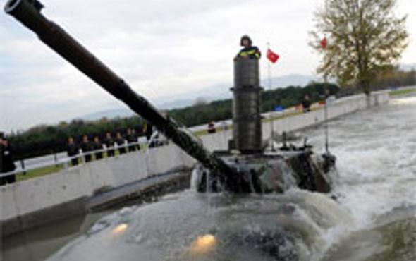 TSK Leopard-1 tankı ile vuracak