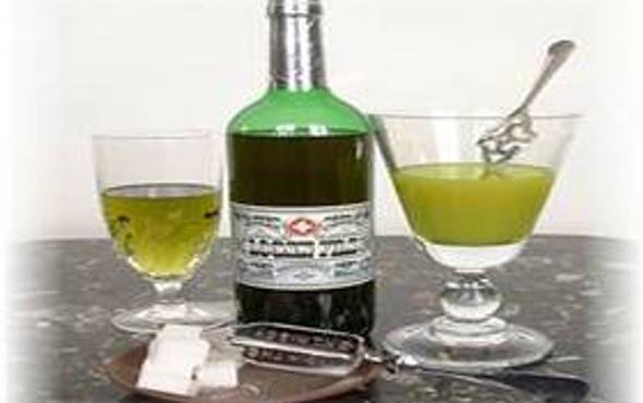 Yasak içki  Yeşil Peri