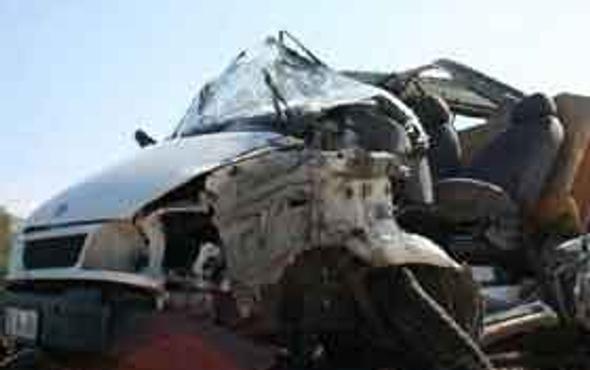 Susurlukta trafik kazası