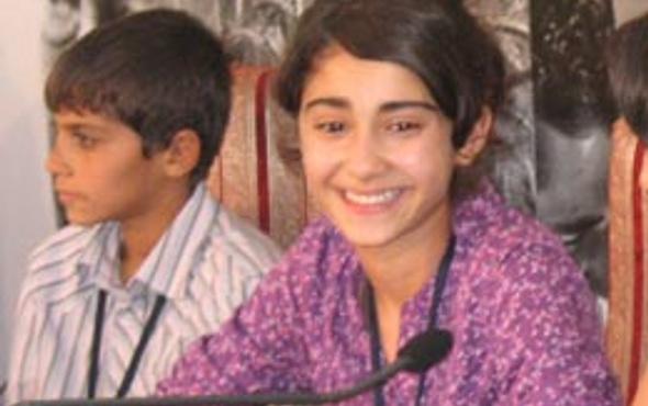 13 yaşında En İyi Kadın Oyuncu seçildi