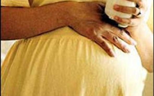 Hamile kadının korkunç intiharı