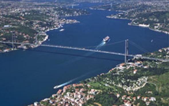 İstanbul boğazının altında nehir bulundu