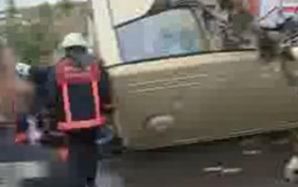 TEM'de korkunç trafik kazası