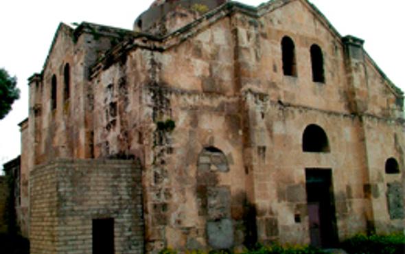 Antep'te 400 yıllık kilise restore ediliyor