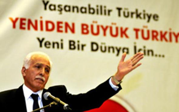 SP lideri Mustafa Kamalak kaza yaptı!