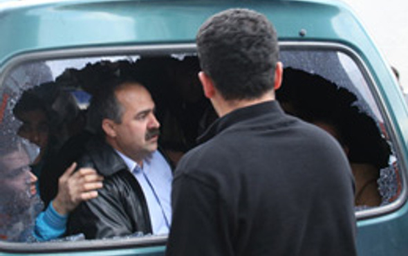 BDP'nin itaatsizlik eylemi olaylı bitti