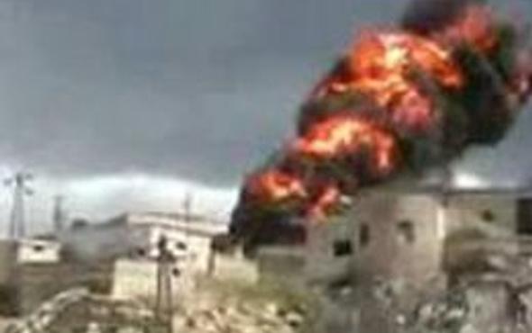 Türkiye Suriye sınırı bombalandı