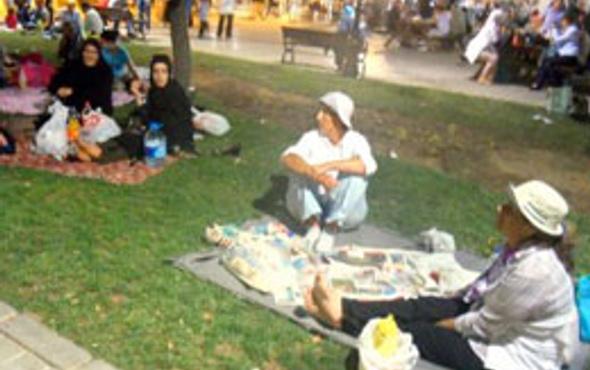 İşte iftar piknikçileri