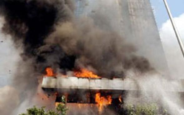 Polat Tower bu yüzden yanmış!