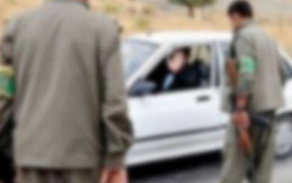Yol kesen PKK'lılara operasyon