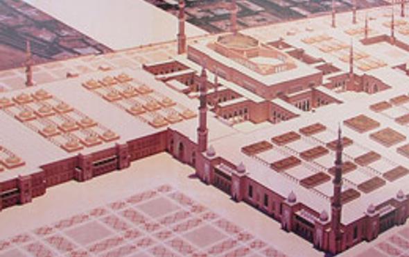 Hz. Muhammed'in mezar alanının son hali!