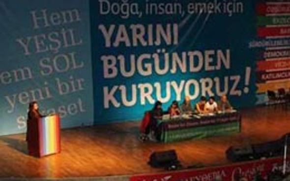 'Yeşiller ve Sol Gelecek Partisi' kuruldu