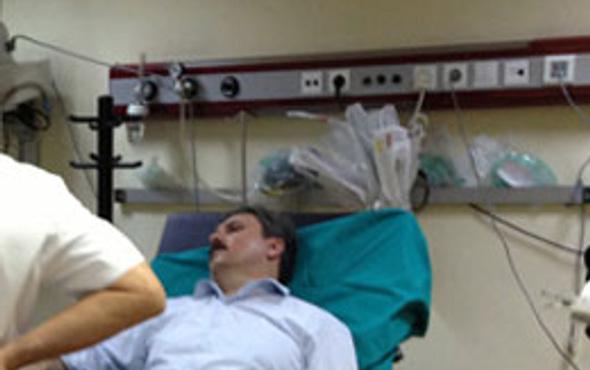 Mustafa Destici kaza geçirdi