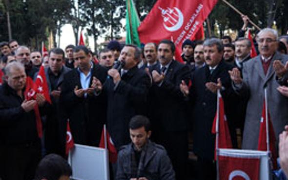 BBP İmralı sürecini protesto etti