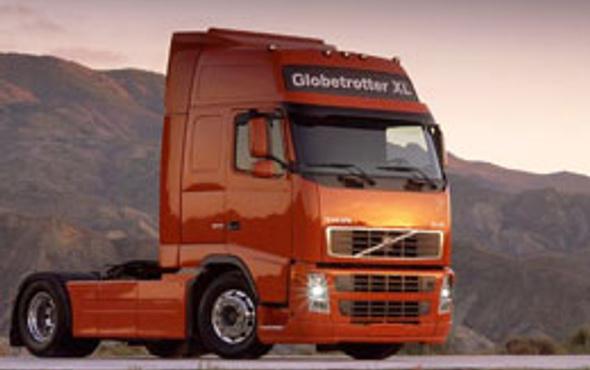 Volvo TIR'ın acil fren sistemi