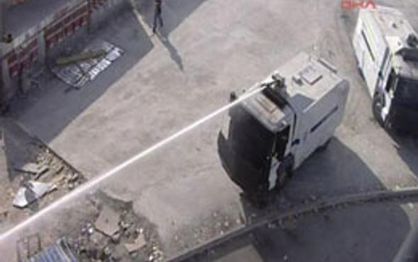 Polis'ten Taksim'de çok ilginç anonslar