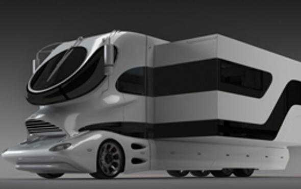 İşte dünyanın en pahalı karavanı!