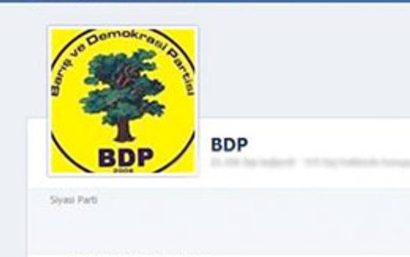 BDP'den Facebook'a sert tepki