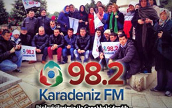 Karadeniz FM'in Çanakkale gezisi