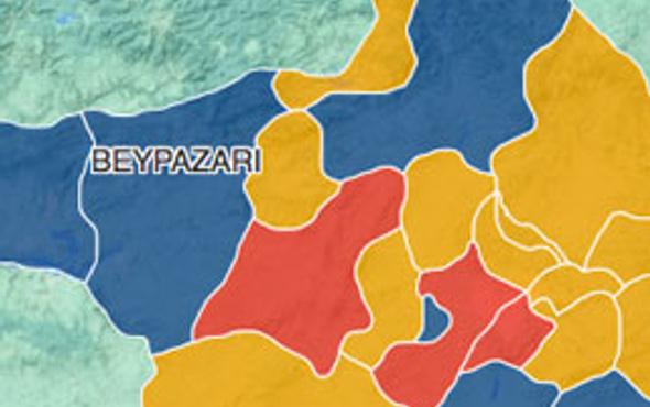 Ankara Beypazarı seçim sonuçları 2014