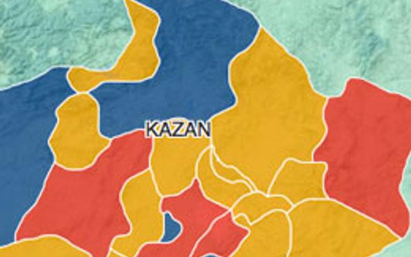 Ankara Kazan seçim sonuçları 2014