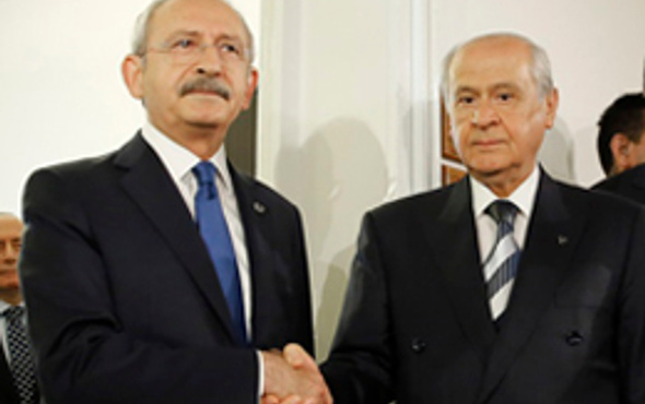 MHP ve CHP tıpış tıpış Köşk'ü Erdoğan'a verdi