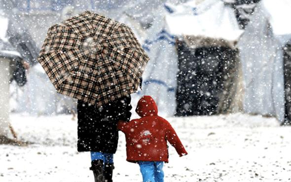 Çanakkale hava durumu kar gece bastıracak