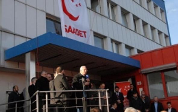 Saadet Partisi Almanya'da temsilcilik açtı