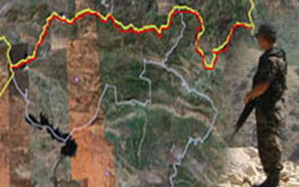 3 boyutlu PKK kampları