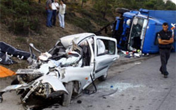 Sivasta trafik kazası