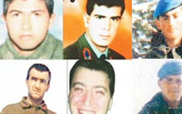 PKKnın kaçırdığı 9 asker