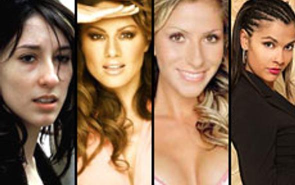 En seksi kadınlar arasında 4 Türk