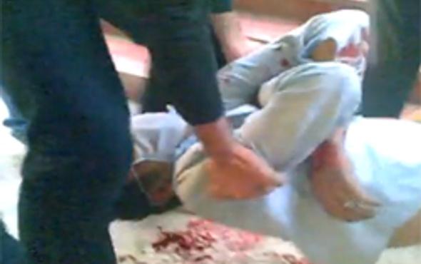 İranda gencin ölüm anı böyle çekildi