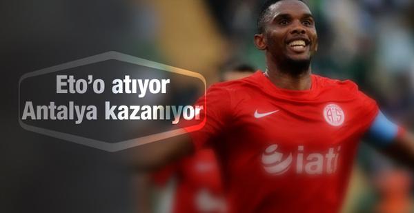 Bursaspor kendi evinde Antalyaspor'a boyun eğdi