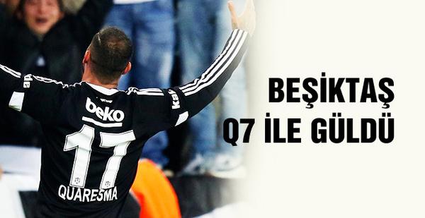 Beşiktaş'ı Quaresma sırtladı! İşte maç özeti