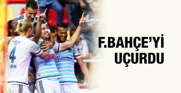 Fenerbahçe kötü gidişe son verdi