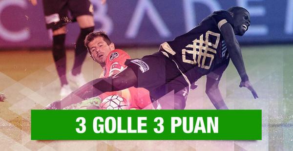 Başakşehir 3 golle 3 puanı kaptı!