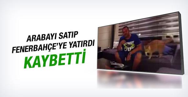 Fenerbahçe'ye 70 bin TL yatıran bahisçi kaybetti