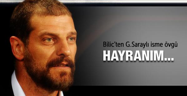 Bilic'ten Hamzaoğlu'na büyük övgü