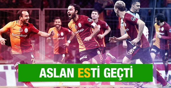 Galatasaray Eskişehirspor maçının sonucu ve özeti