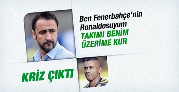 Nani kendini Fenerbahçe'nin Ronaldo'su ilan etti