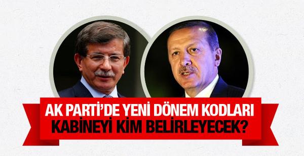 Yeni kabineyi kim belirleyecek? Erdoğan mı Davutoğlu mu?