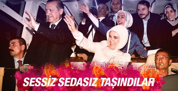 Erdoğan taşındı işte yeni konutu