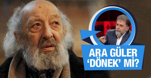 Erdoğan'ı çeken Ara Güler 'dönek' mi? Ahmet Hakan yazdı
