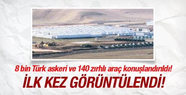 İşte Türkiye'nin Kuzey Irak'taki kampı