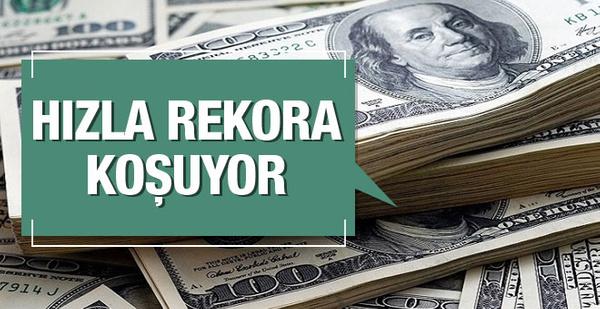 Dolar rekora koşuyor 11 Ekim 2016 dolar kuru son dakika haberleri