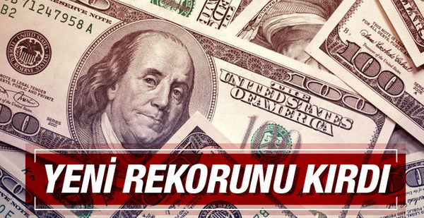 Dolar kuru yeni rekor 18 Ekim 2016 dolar son durum