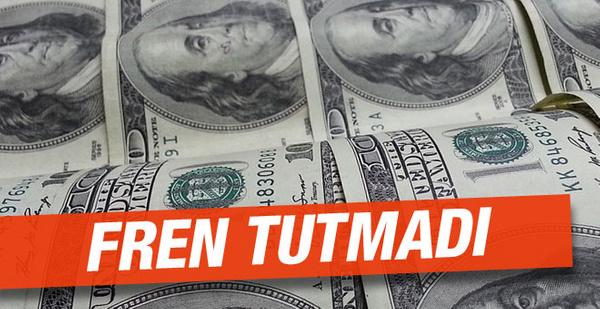 Dolar alış satış 21 Ekim 2016 Cuma faiz freni tutmadı